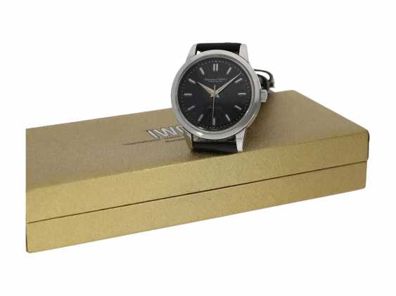 """Watch: IWC Ingenieur with black """"Tropical Dial"""" with Box and service papers, Schaffhausen, 1963 - photo 1"""