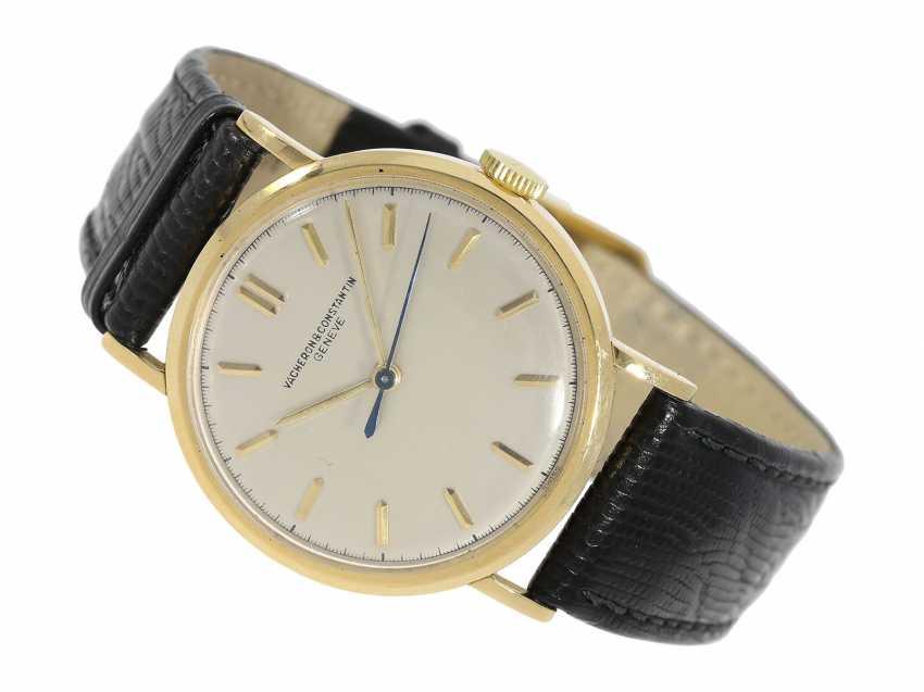 Watch: ultra-fine men's watch with Central seconds, Vacheron & Constantin, Genève, No. 474589, CA. 1948 - photo 1