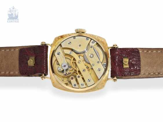 "Watch: Patek Philippe rarity, one of the earliest Patek Philippe watches ""Cushion-Shape"" 18K Gold, Geneva, in 1908, with the master excerpt from the book - photo 5"