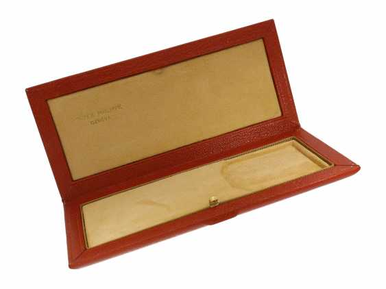 Watch case: high quality vintage case for a Patek Philippe Calatrava, probably G & A, Vaudaux Geneve Horlogerie, Switzerland, new-old-stock, probably 50s-70s - photo 3