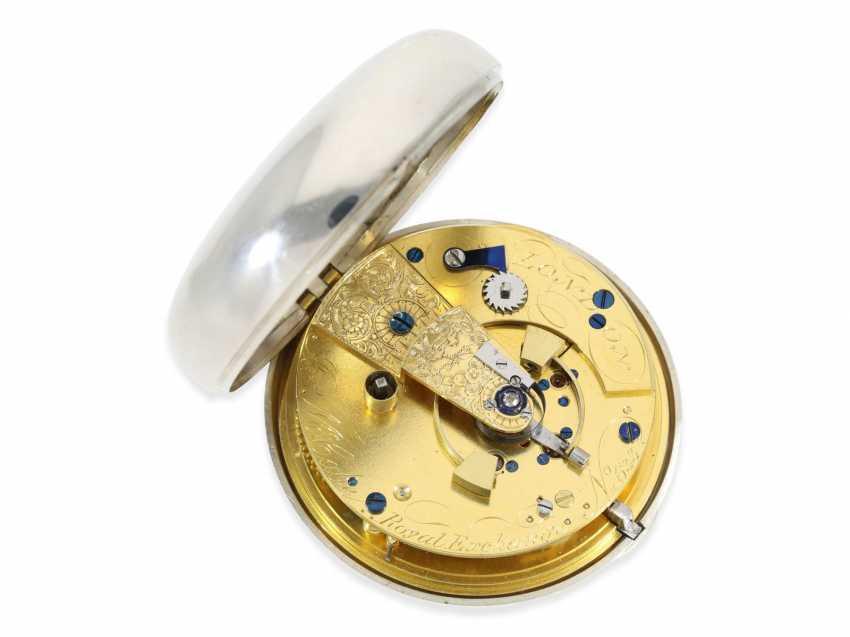 "Pocket watch: extremely heavy, high-fine English Pocket chronometers ""best"" quality, signed James McCabe No. 633, Hallmarks 1816 - photo 1"