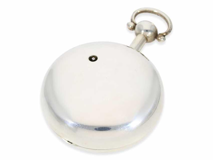 "Pocket watch: extremely heavy, high-fine English Pocket chronometers ""best"" quality, signed James McCabe No. 633, Hallmarks 1816 - photo 3"