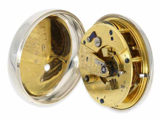 "Pocket watch: extremely heavy, high-fine English Pocket chronometers ""best"" quality, signed James McCabe No. 633, Hallmarks 1816 - photo 4"