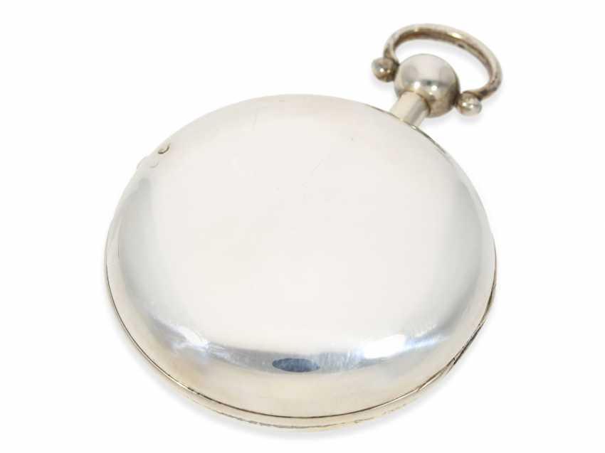 "Pocket watch: extremely heavy, high-fine English Pocket chronometers ""best"" quality, signed James McCabe No. 633, Hallmarks 1816 - photo 5"