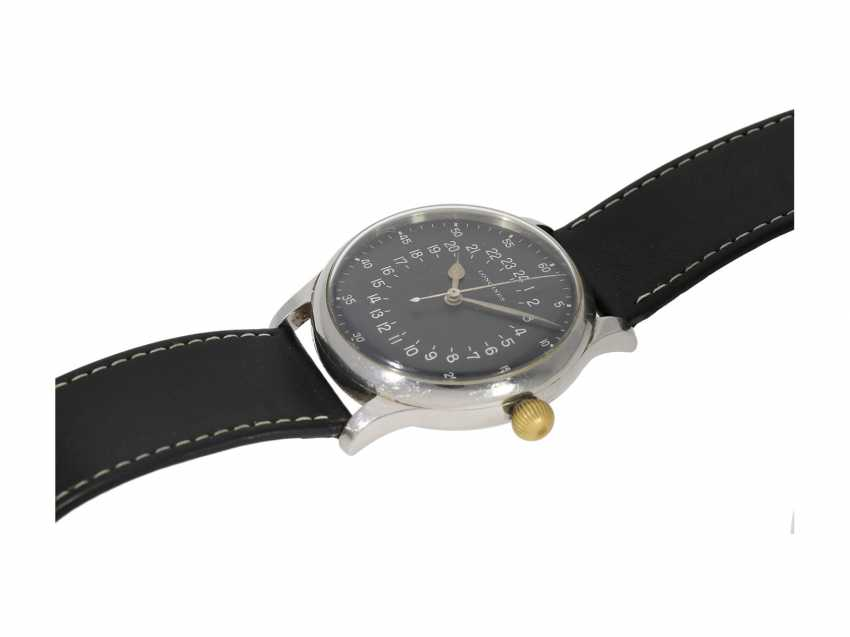 Watch: absolute rarity, unique Navigation Set, one of only 4 known to Longines pilot's watches of Ref.6630-1 and other rare navigation Instruments from the estate of a major Lufthansa pilots, with Longines master excerpt from the book, 1954 - photo 10
