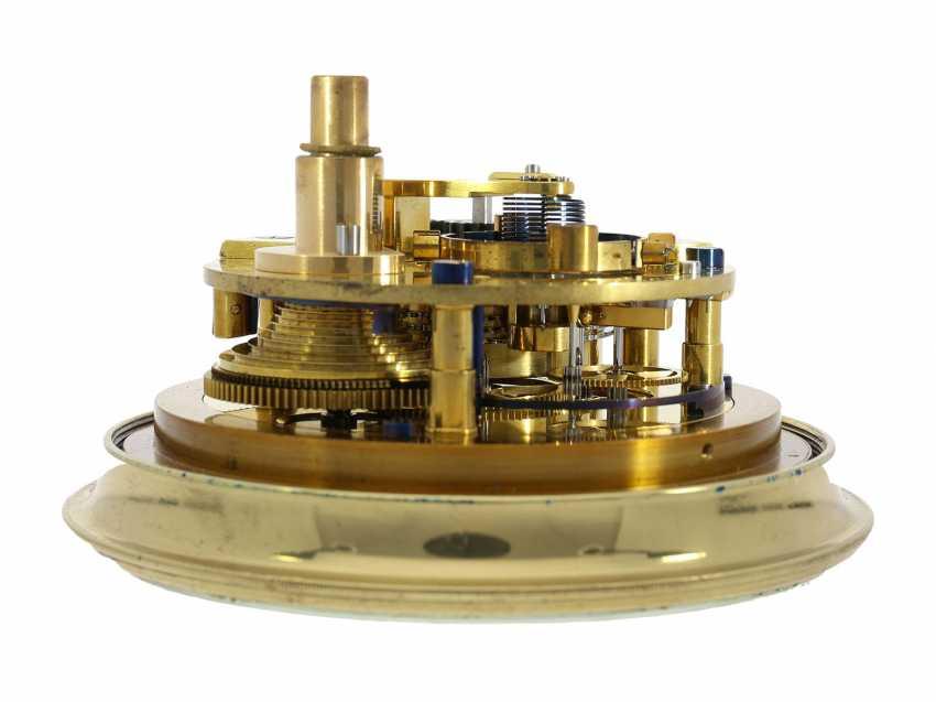Marine chronometer: early, interesting English marine chronometer, double case, Lilley & Son, London, No. 1753, Royal chronometer maker, about 1900-1910 - photo 3