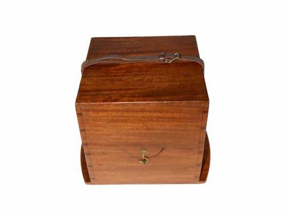 Marine chronometer: early, interesting English marine chronometer, double case, Lilley & Son, London, No. 1753, Royal chronometer maker, about 1900-1910 - photo 6