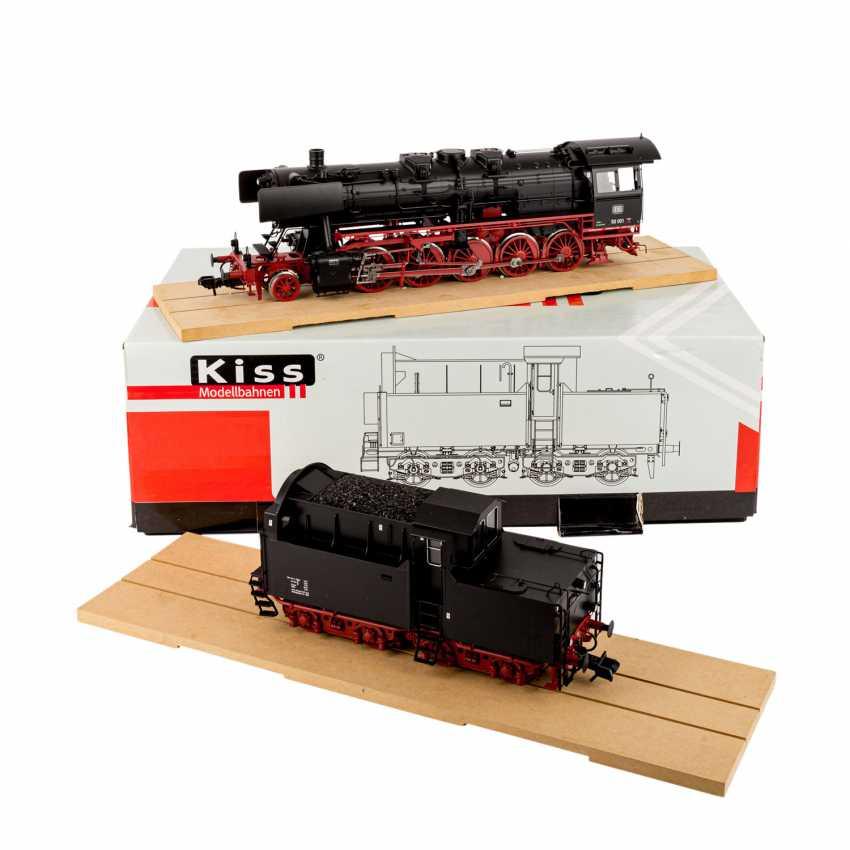 KISS steam locomotive 125101 with cabin tender, gauge 1, - photo 1