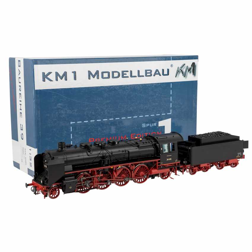 KM1 Tow tender locomotive of the DRG, track 1, - photo 1