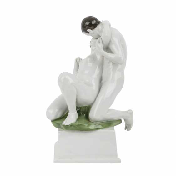 ROSENTHAL figure group of 'Eros', brand of the CA. 1914. - photo 2