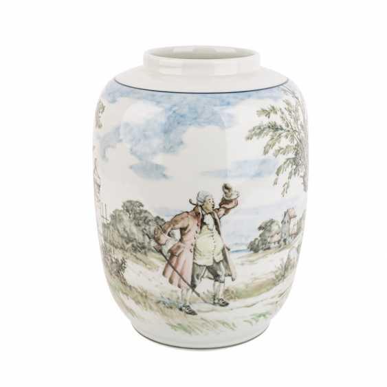 ROYAL COPENHAGEN seltene Vase, 1941. - photo 1