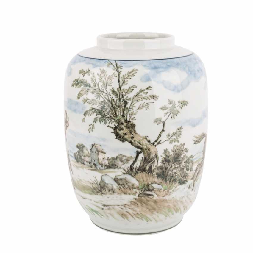 ROYAL COPENHAGEN seltene Vase, 1941. - photo 2