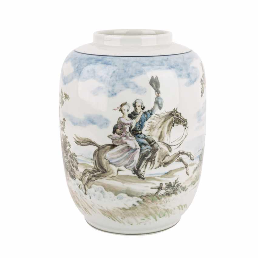 ROYAL COPENHAGEN seltene Vase, 1941. - photo 3