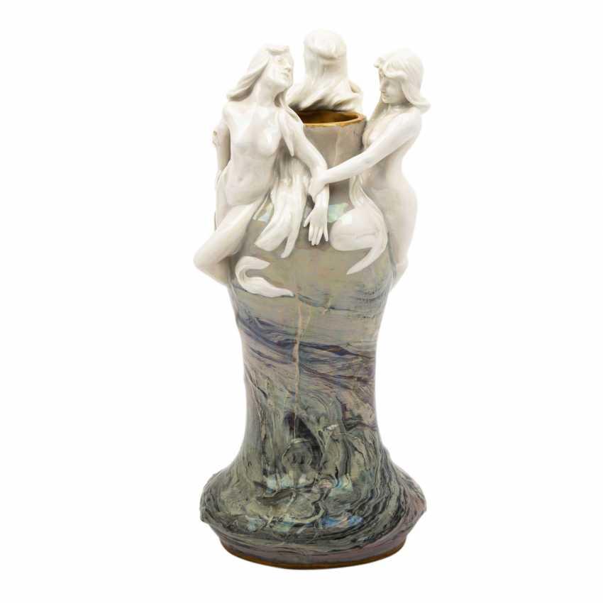 ROSENTHAL/KRONACH art Nouveau Vase, 1900. - photo 1