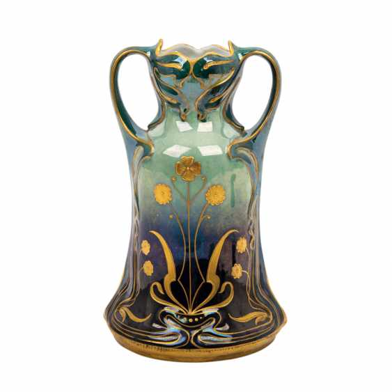 Probably JOSEF RIEDL/BOHEMIA art Nouveau Vase, about 1900, - photo 3