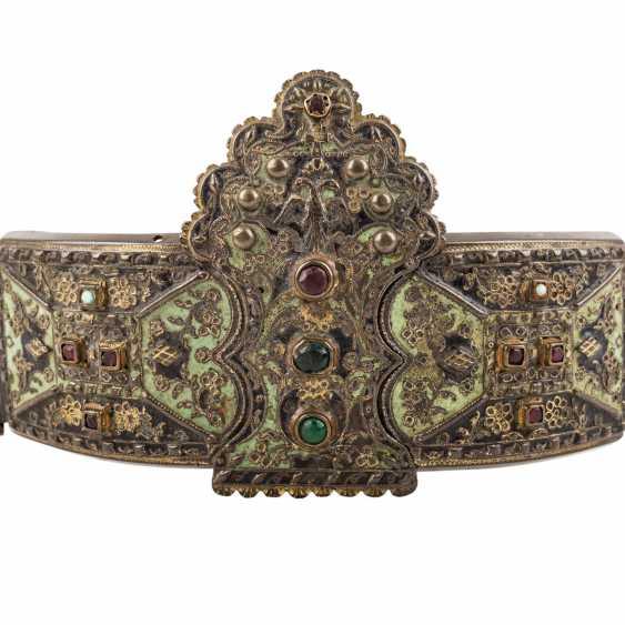 Powerful folk belt. RUSSIA, around 1900 - photo 2
