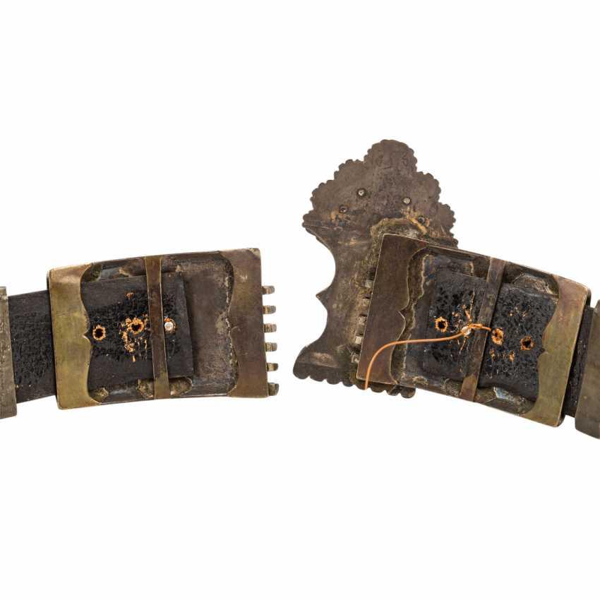 Powerful folk belt. RUSSIA, around 1900 - photo 4
