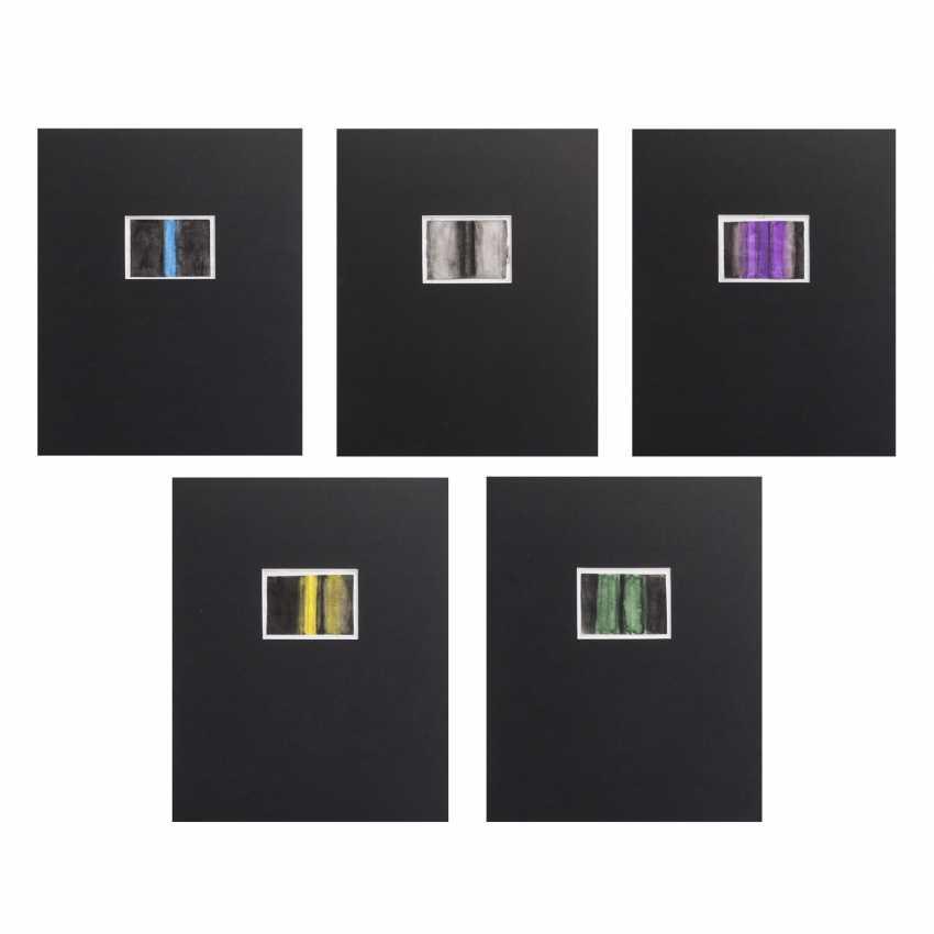 HUNDERTWASSER, FRIEDENSREICH (1928-2000), 5 cover designs, - photo 1