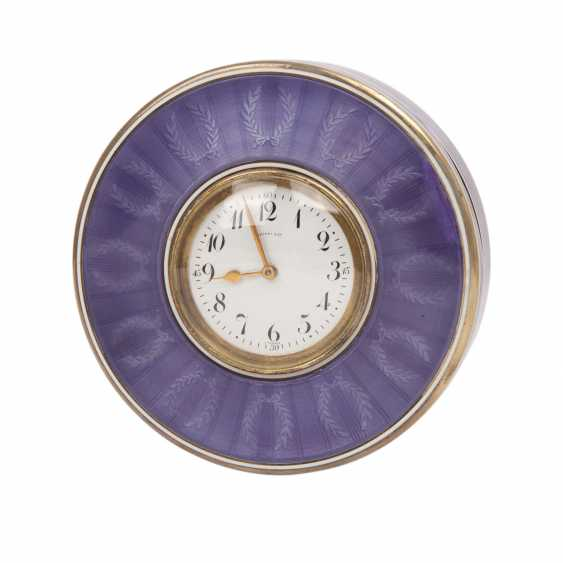 TIFFANY & CO. Can with clock, France, 20. Century - photo 1