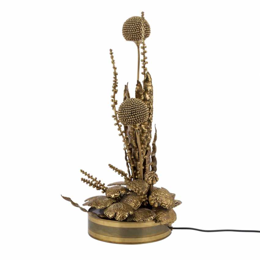 "MAISON JANSEN ""Thistle lamp"" - photo 2"