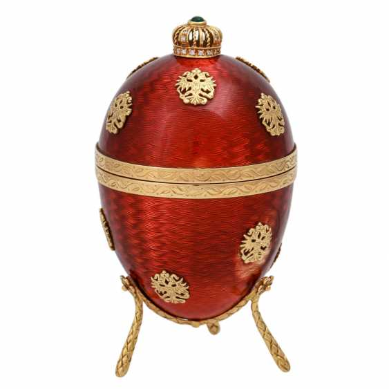 FABERGE by VICTOR MAYER, Ei mit Hündchen, - photo 1