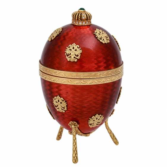 FABERGE by VICTOR MAYER, Ei mit Hündchen, - photo 2