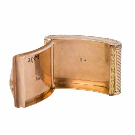 BIEDERMEIER ANATOMICAL SNUFFBOX SET IN GOLD - photo 3