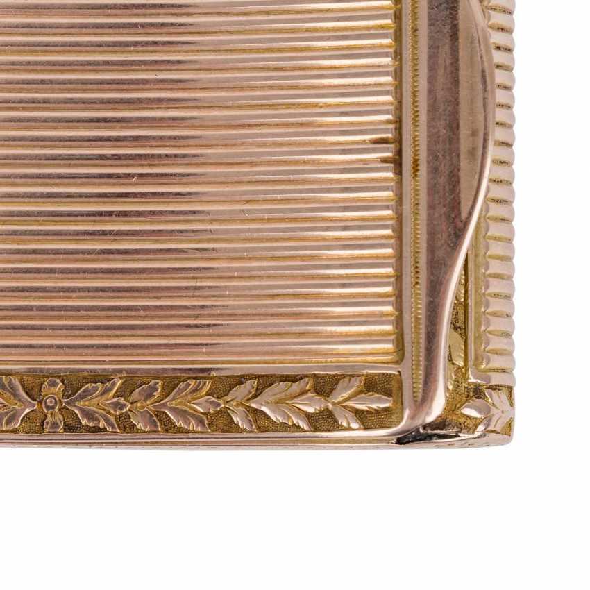 BIEDERMEIER ANATOMICAL SNUFFBOX SET IN GOLD - photo 4