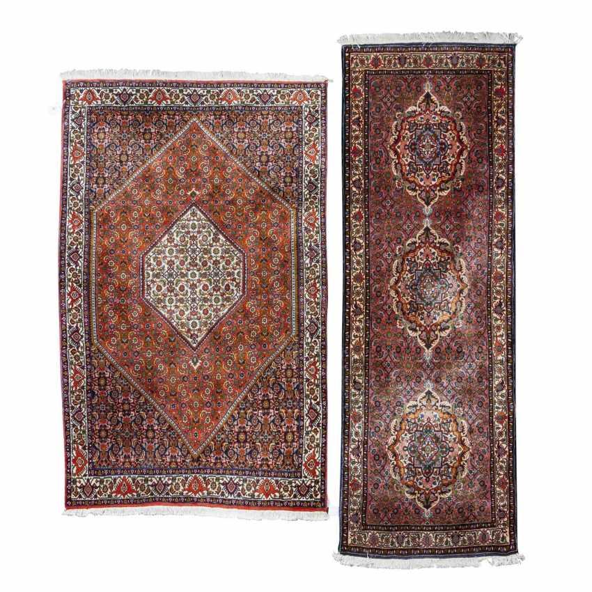 Two Oriental Rugs. BIDJAR, IRAN, 20. Century. - photo 1