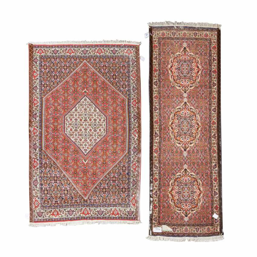 Two Oriental Rugs. BIDJAR, IRAN, 20. Century. - photo 2