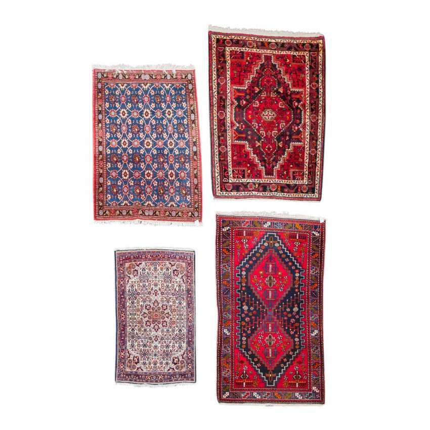 Four Oriental Rugs. PERSIA, 1970s. - photo 1