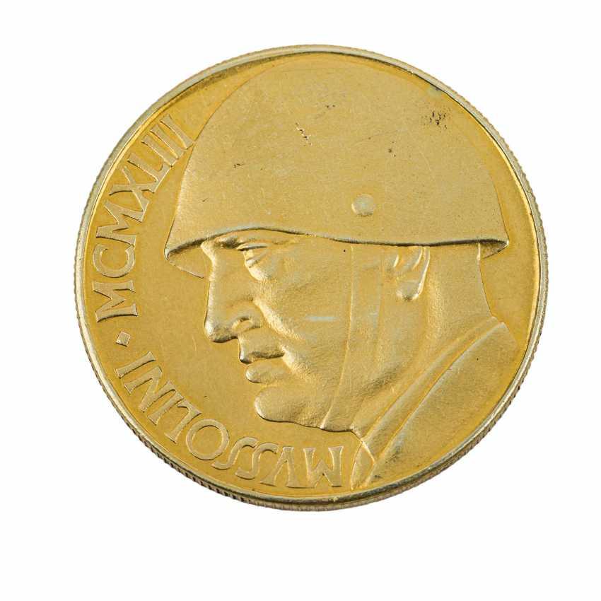 Italy/GOLD - Benito Mussolini, 1883-1945, - photo 1