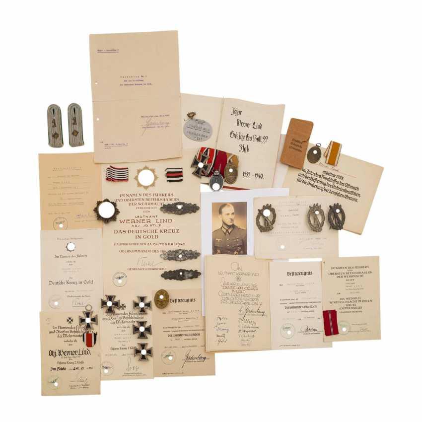 German Reich 1933-1945 estate of Lieutenant WERNER LIND, - photo 1