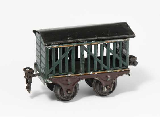 "Marklin-Wagons Of Cattle ""1809"" - photo 1"