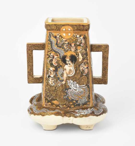 Satsuma-Vase - photo 1