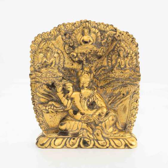 Padmasambhava in Yab-Yum - photo 1