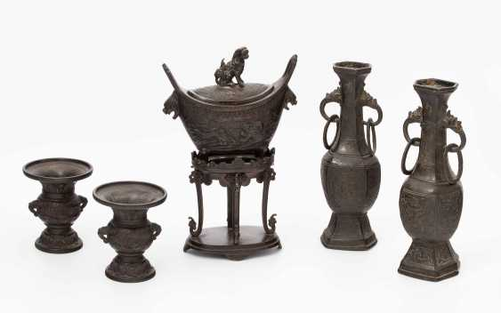 Bronze-Altargarnitur - photo 1