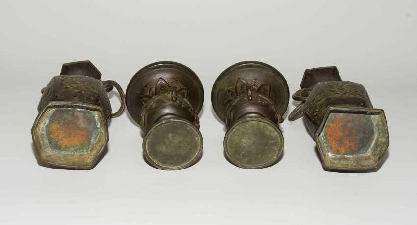 Bronze-Altargarnitur - photo 10