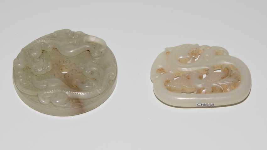 2 Jade-Jewelry Discs - photo 3