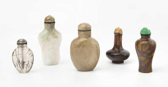 5 Snuff Bottles - photo 1