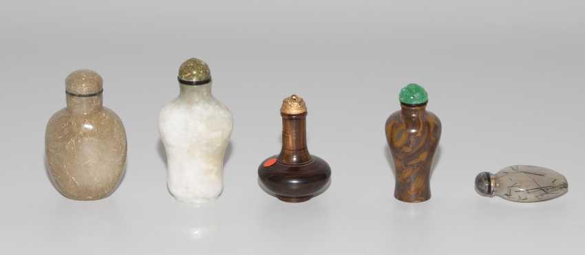 5 Snuff Bottles - photo 2
