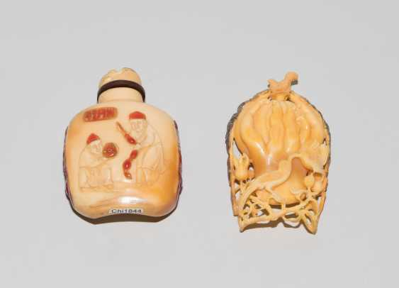 2 Hornbill-Snuff Bottles - photo 2