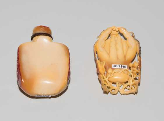 2 Hornbill-Snuff Bottles - photo 3