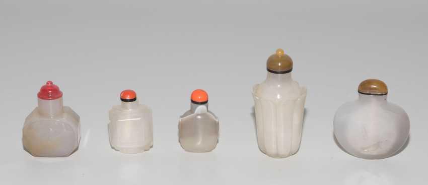 5 Achat Snuff Bottles - photo 4
