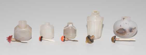 5 Achat Snuff Bottles - photo 6