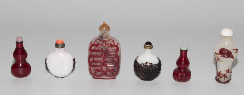 6 Glas Snuff Bottles - photo 4