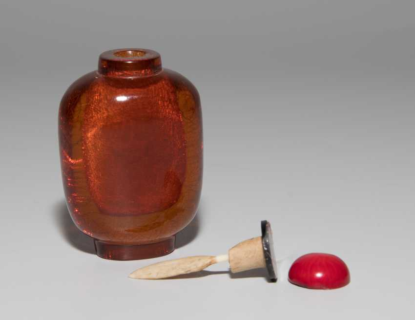 Bernstein Snuff Bottle - photo 6