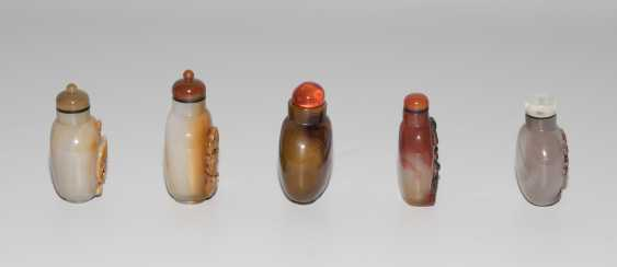 5 Achat Snuff Bottles - photo 5