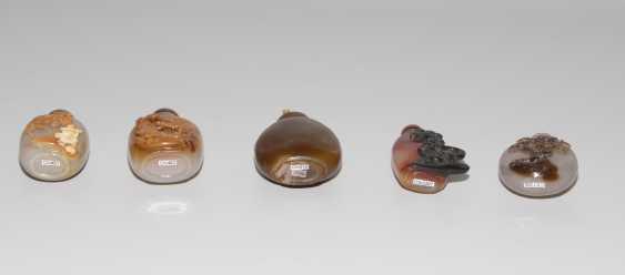 5 Achat Snuff Bottles - photo 7