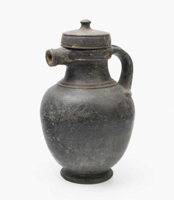 Etruscan pitcher with lid - photo 1
